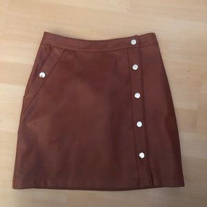 URBAN OUTFITTERS LEATHER SKIRT